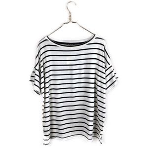 NWT Banana Republic • Striped Signature Tee.